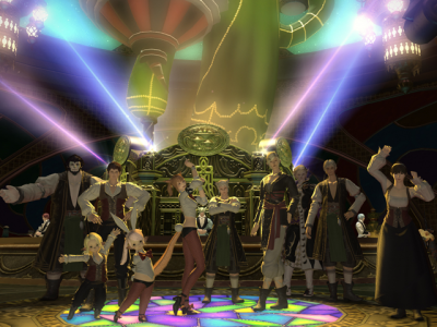 FINAL FANTASY XIV Gold Saucer